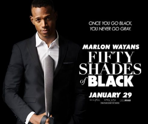 Fifty Shades of Black gør grin med Fifty Shades of Grey